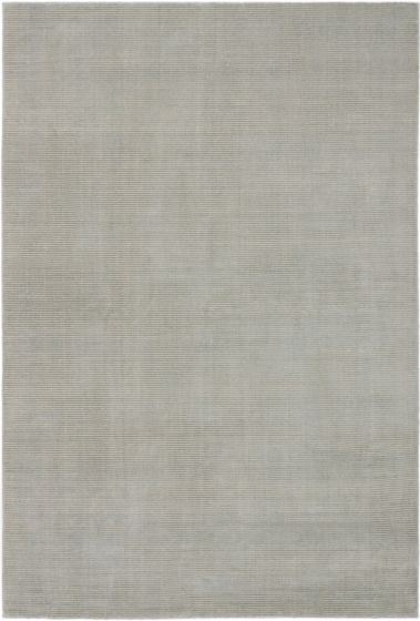 Transitional Grey Area rug 5x8 Nepal Hand-knotted 189659