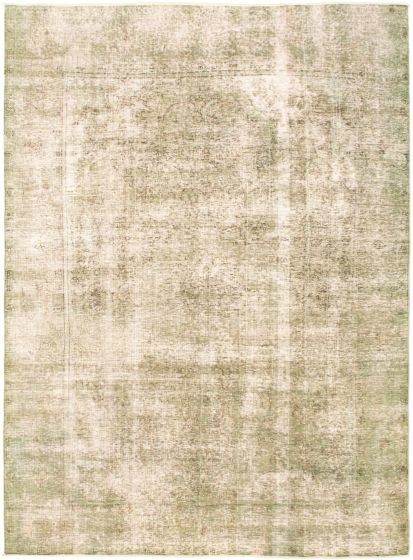 Overdyed  Transitional Green Area rug 6x9 Turkish Hand-knotted 318312
