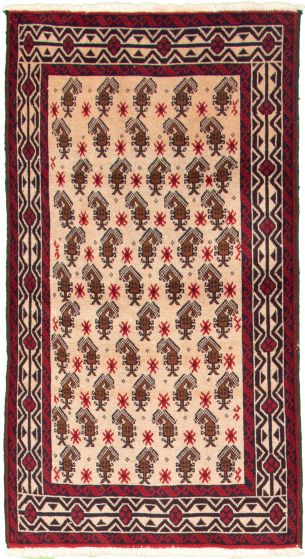 Bordered  Tribal Green Area rug 3x5 Afghan Hand-knotted 332922