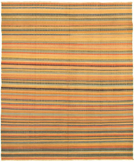 Casual  Transitional Multi Area rug 6x9 Turkish Flat-weave 336027